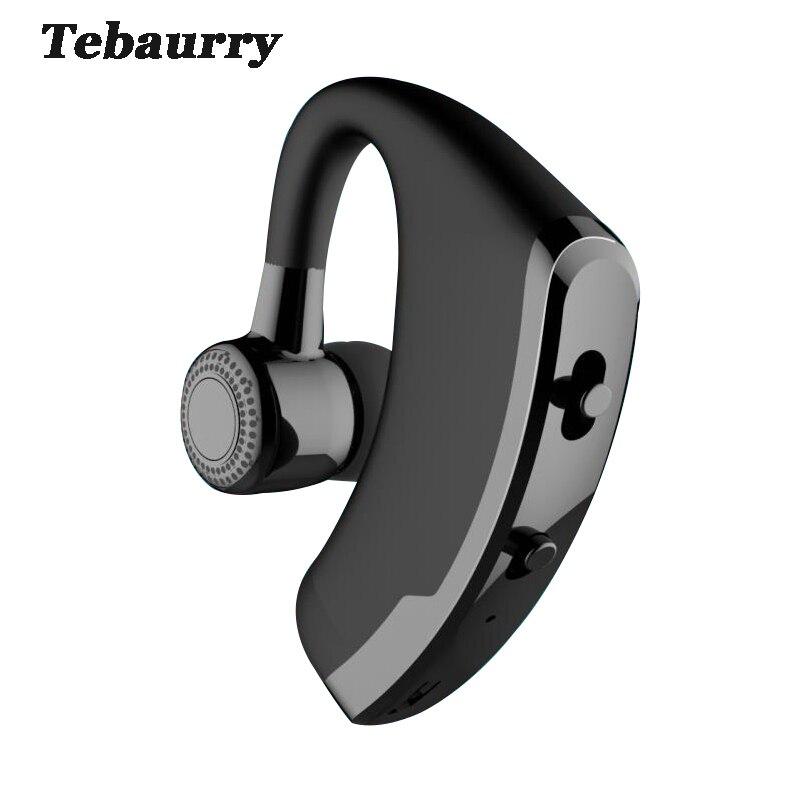 Бизнес Bluetooth гарнитура с микрофоном голос Управление громкой связи Беспроводной Bluetooth наушников Спорт Музыка вкладыши audifono