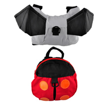 Baby Carrier Anti-lost Harness Backpack Kids Toddler Multifunctional Walking Belts Kids Lovely Cartoon Adjustable Safety Bag