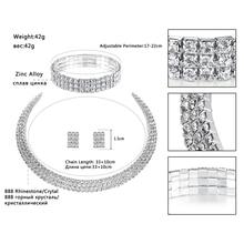 Crystal Bridal Jewelry Sets