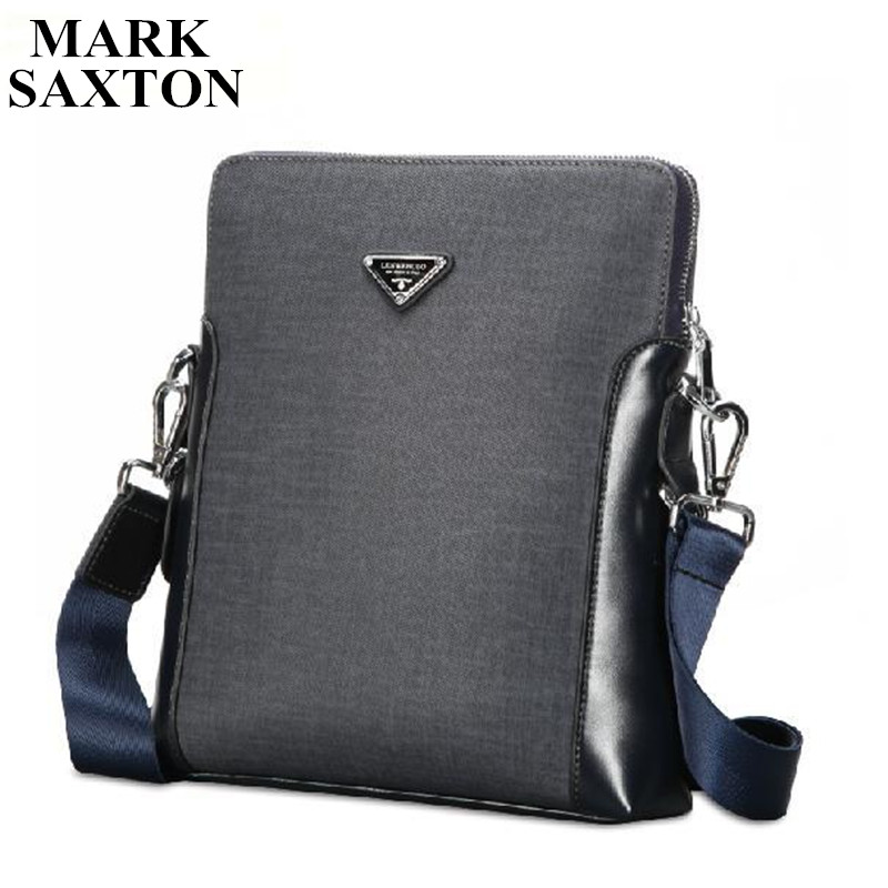 ФОТО High-end Brand Designer men bags European and American style Wearproof PVC men messenger bags Excellent business briefcase