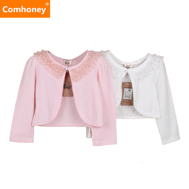 S Bolero Lace Pearl For Wedding Suit Kids Clothing 3 15t Children