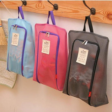 2017 New Traveling Portable Storage Easy Zipper Underwear Bra Socks Bag Waterproof Laundry Organizer Set Large Mesh For Shoes