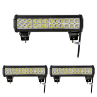 4pcs/lot 72W 7200LM LED Work Light Bar 24 LED Daytime Running Lights Waterproof Led Lamp Car Light for SUV Tractor Truck Auto