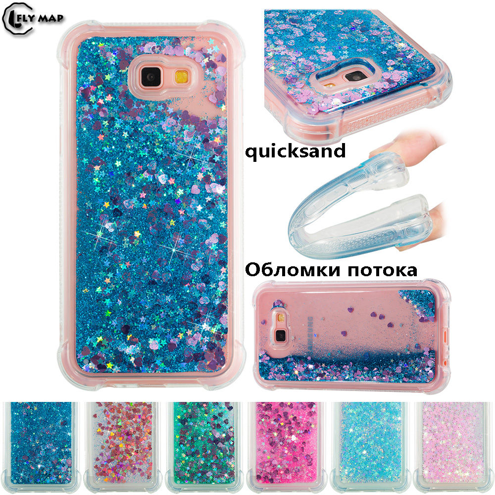 Cellphones & Telecommunications Trustful Glitter Stars Cover For Samsung Galaxy A7 A 7 2017 A720 A720f A720f/ds Sm-a720f Sm-a720f/ds Liquid Quicksand Soft Tpu Back Case