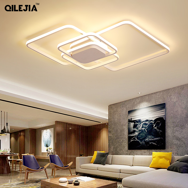 Creative Ceiling lamps led modern for Living Room with Remote Control Bedroom follower Ceiling led plafondlamp