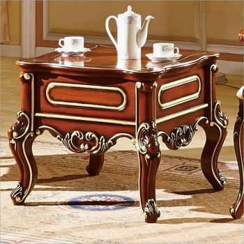 Antike Esstische | Antiken Stil Italienischen Kleinen Tisch, 100% Massivholz Italien Stil Luxus Tisch Set Pfy701