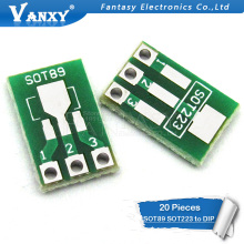 20 шт. SOT89 SOT223 к DIP печатной платы передачи DIP Pin доска шаг адаптер keysets