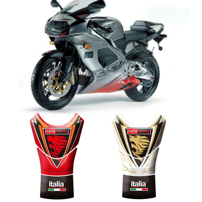 Motorcycle 3D Fuel Tank Pad Protective Stickers Decals For Aprilia RSV Mille 1998-2004 RSV Mille