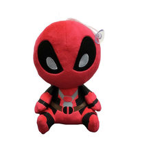"20 cm 12 cm Filme X-Men O Deadpool Marvel Plush Macio Stuffed Dolls Pingente 8 ""deadpool peluche Chaveiro Brinquedos Caçoa o Presente(China)"