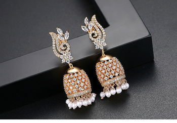 Vintage Birdcage Jhumka Earrings