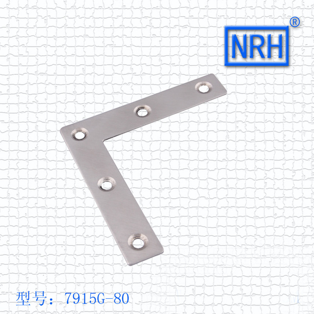 Thick Stainless Steel Angle Code Right Angle  Iron Angle Code L Type Stainless Steel Angle Code 7915G-80