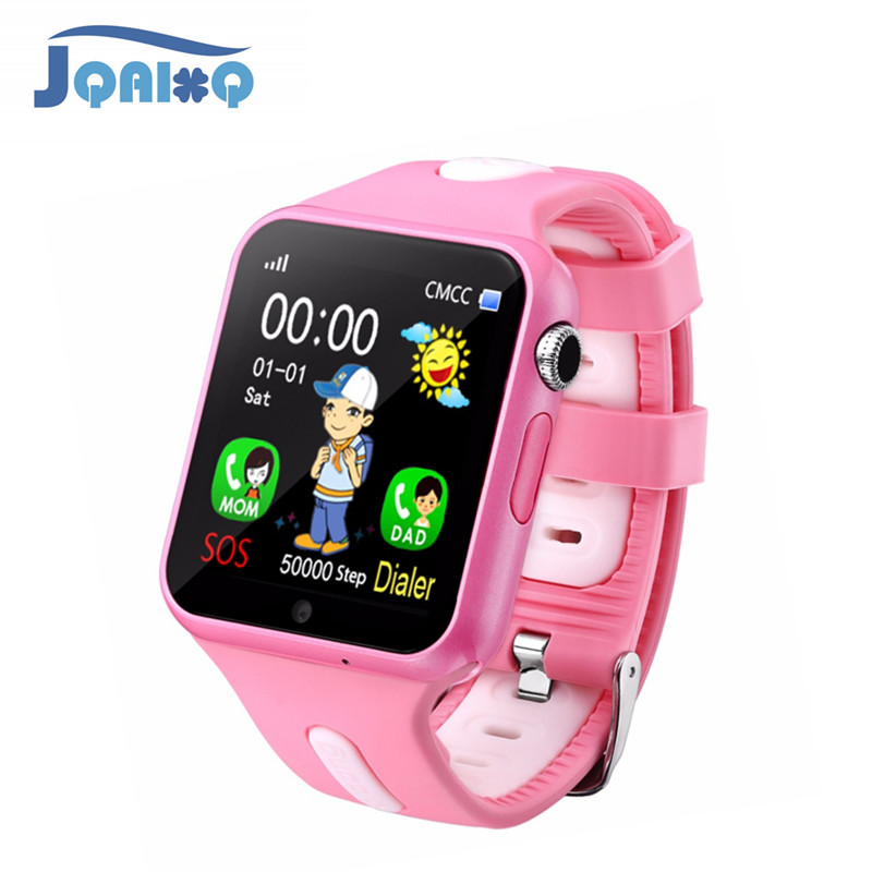 Children Smart Watch With Camera Emergency Security Anti Lost SOS For IOS Android Phone Watch Waterproof Baby Watches espanson gps tracker children security anti lost smart watch with camera kid sos emergency for ios android waterproof baby watch