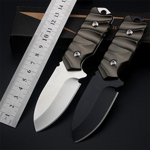 2018 New Free Shipping Outdoor Mini Pocket Fixed Tactical Hunting Army Knife Camping Survival Small Straight Knives EDC Tools