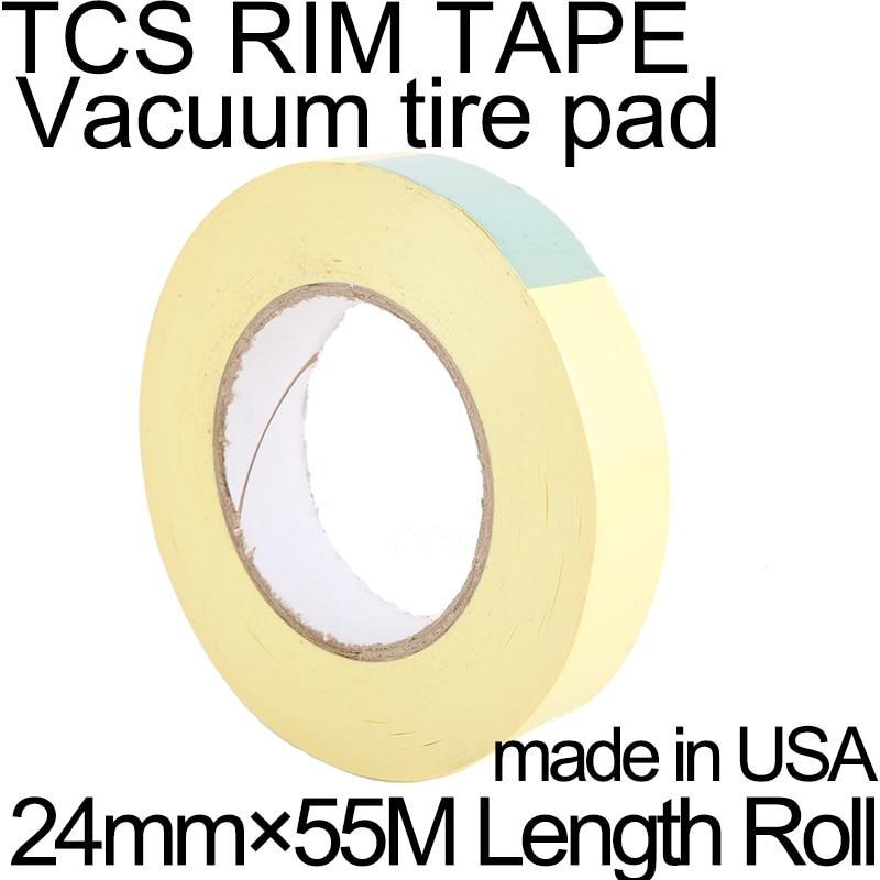 50m Tubeless tape MTB Bike No Tubes Valve Tubeless Presta valve Tac rim tape Vacuum tire pad Mountain bicycle wheel carbon wheel