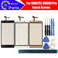 5.5 inch OUKITEL K6000 Pro Màn Hình Cảm Ứng Glass Đảm Bảo 100% Original Glass Bảng Điều Chỉnh Màn Hình Cảm Ứng Cho K6000 Pro + công cụ + keo