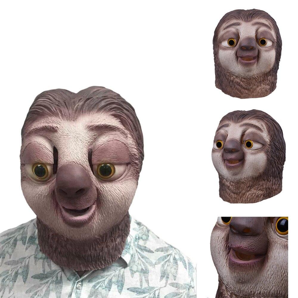 Aliexpress.com : Buy Sloth latex mask Zootopia Sloth Mask Nick ...