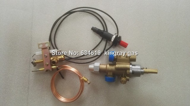 Brass Gas safety automatic shutoff valve flameout protection valve ...