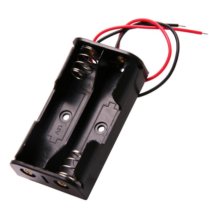Glyduino 2 sections sur le 5th compartiment de batterie couvercle interrupteur scellé installé piles AA