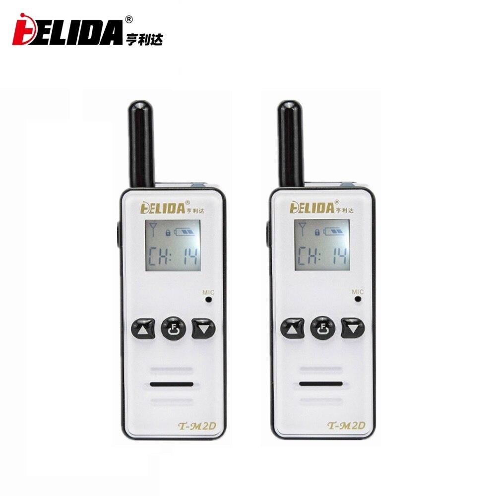 2 pièces 400-480 MHZ poche enfants Radio bidirectionnelle 128 canaux T-M2D Mini talkie-walkie Super minuscule FRS/GMRS Walky Talky Radio pour enfants