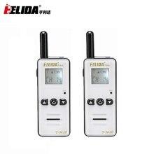 Mini Walkie Talkie de mano para niños, Radio bidireccional de 400 a 480MHZ, T M2D, súper pequeña, FRS/GMRS Walky Talky, 2 uds.