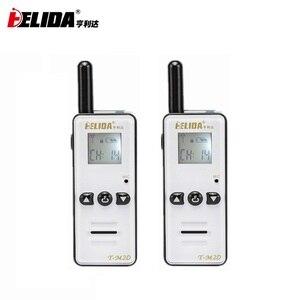 Image 1 - Mini Walkie Talkie de mano para niños, Radio bidireccional de 400 a 480MHZ, T M2D, súper pequeña, FRS/GMRS Walky Talky, 2 uds.