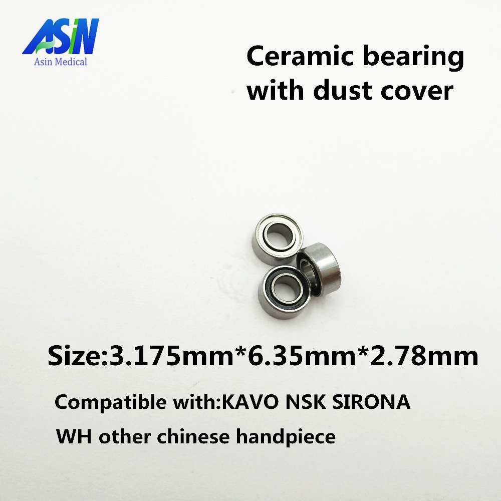 High Quality 10pc Hot sale ASIN dental ceramic bearing 3 175x6 35x2 78 Ceramic Ball 7