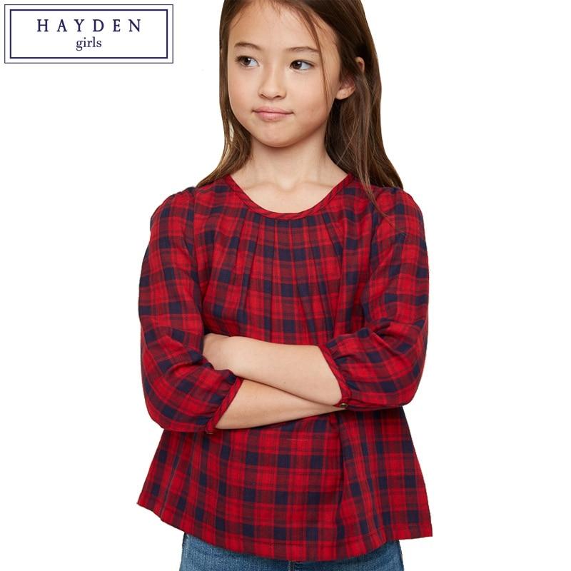 buy hayden plaid shirt for girls. Black Bedroom Furniture Sets. Home Design Ideas