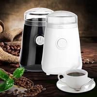 150 W Elektrikli Kahve Değirmeni Mini Ev Mutfak Tuz Karabiber Değirmeni baharat Fındık Tohumları Kahve Çekirdeği Değirmeni Makinesi AB Tak 2 renkler