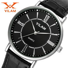 VILAM Sport Watches Men Luxury Brand Nylon Strap Men Army Military Wristwatches Clock Male Quartz Watch Relogio Masculino 2016