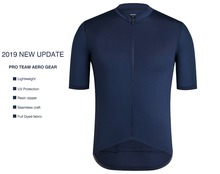 SPEXCEL 2019 New Version Dark Navy Pro team aero Lightweight Short sleeve cycling jersey Seamless process road cycling gear cheap Jerseys Unisex Breathable Anti-Pilling Anti-sweat Quick Dry Broadcloth Full Zipper CYCLING JERSEY 2019 Polyester spandex