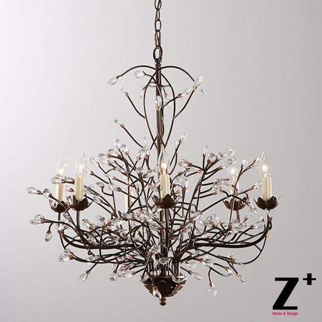 Lighting Warehouse Branches: Aliexpress.com : Buy Tree Branch CHANDELIER 6 ARM AGED