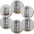 4X 10X 20X 40X 60X 100X Biomicroscope Systeem Achromatische Laboratorium Onderwijs Bio-Microscoop Biologische Microscoop Doelstelling Lens