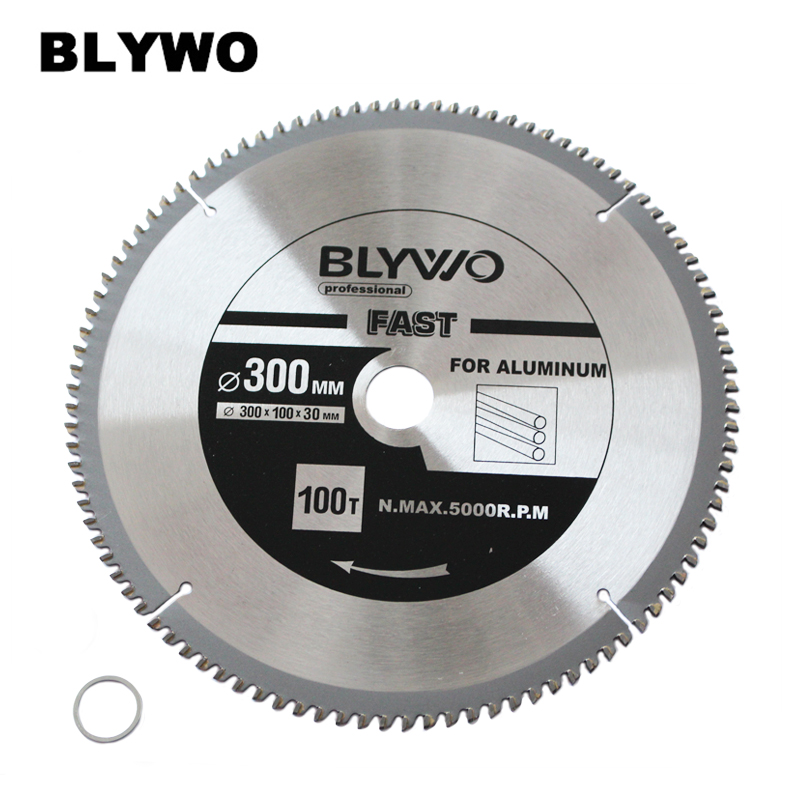 300mm 100 Tooth Saw Blade With 30mm Arbor For Aluminum And Non Ferrous Metals