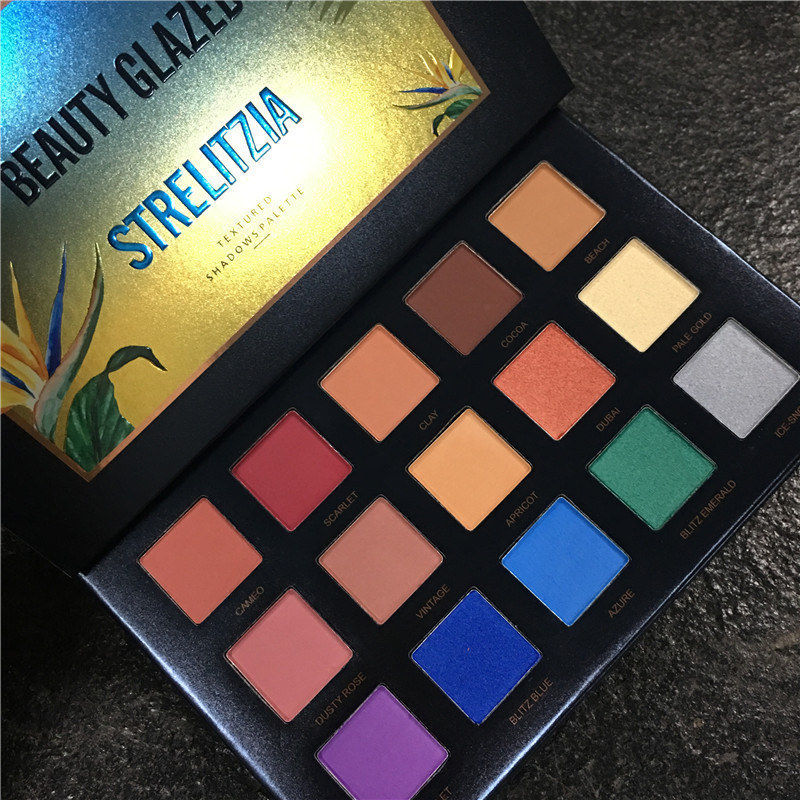 Beauty Glazed Fashion 15 Color Bird Of Paradise Eyeshadow
