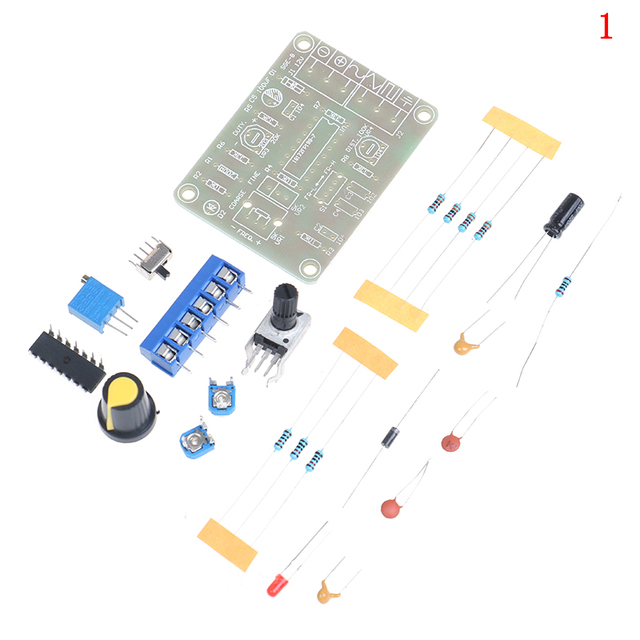 1Set Good Quality ICL8038 Monolithic Function Signal Generator Module Kit Sine Square Triangle Best Selling