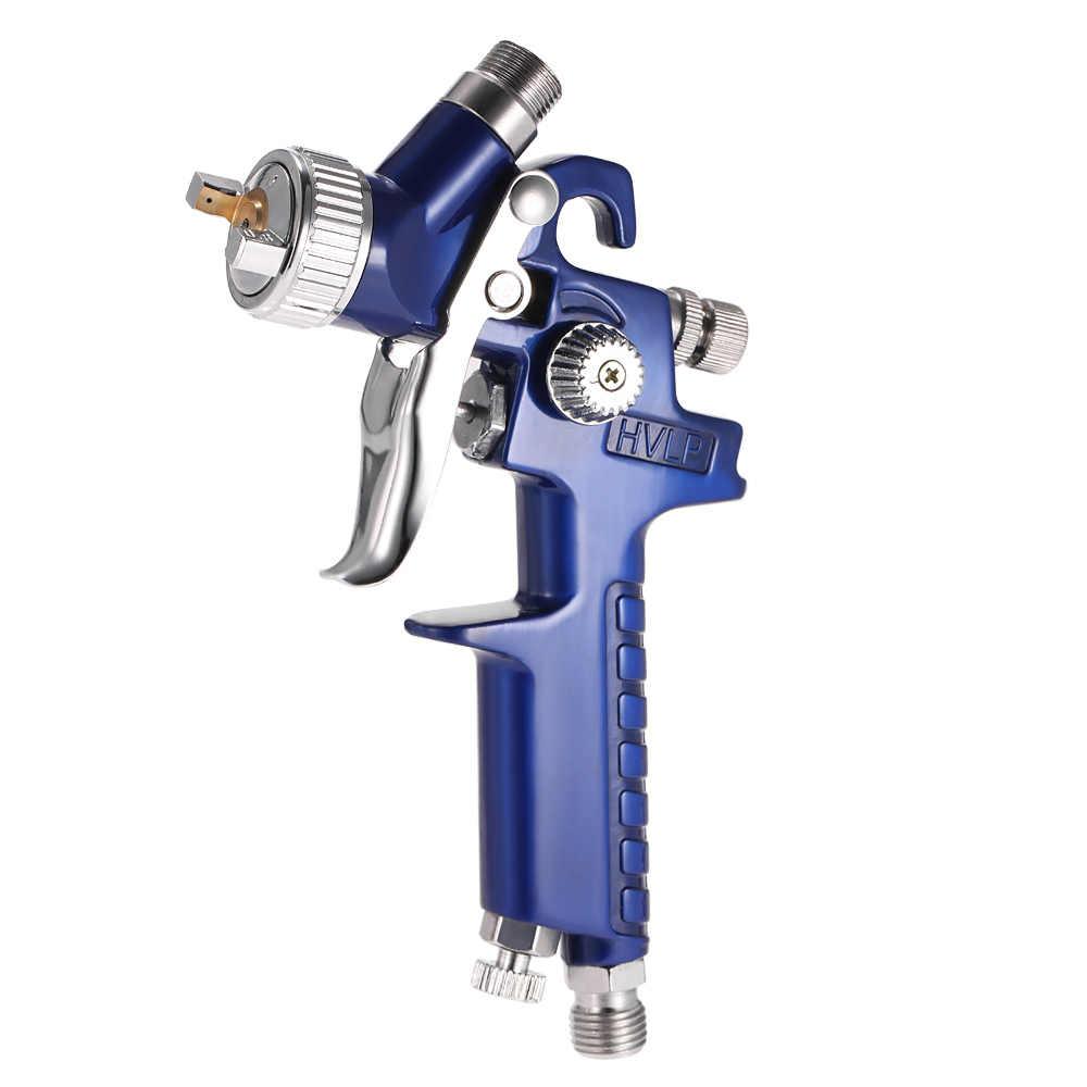 Airbrush Kit HVLP LUCHTSPUITPISTOOL Touch Up Verfspuitmachine Gravity Feed Air Brush Set Nozzle Auto Detail Schilderen spot Repair