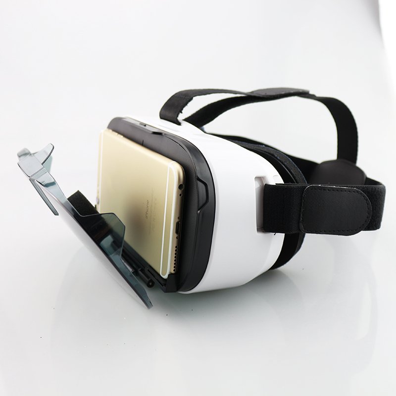 Original Fiit 2N 3D Glasses VR Virtual Reality Headset 120 FOV Video Google Glass Cardboard Helmet For Phone 4-6' + Remote Pakistan