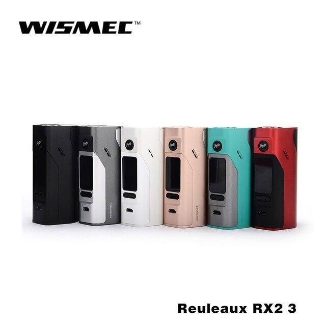 На складе в Исходном Wismec Reuleaux RX2/3 Коробка Мод обновляется RX200 150 Вт или 200 Вт выходная мощность Двойная Защита Цепи 18650 коробка mod