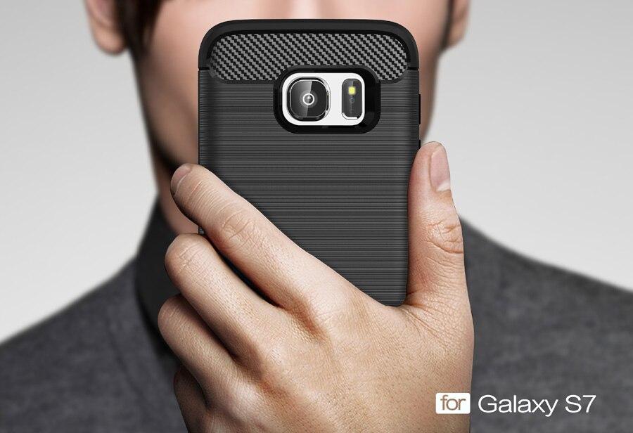 Anti mengetuk Batal Pelindung Kasus Untuk Samsung galaxy Kasus S7 - Aksesori dan suku cadang ponsel - Foto 2