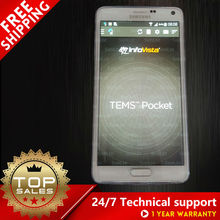 Tems NOTE4 тест-драйв phone support Volte/Cat6/POLQA тест/TEMS pocket N910G N910F