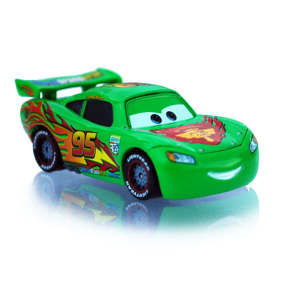 dessin anim de disney pixar voiture classique no 95 dr le vert mcqueen en m tal diecast toy car. Black Bedroom Furniture Sets. Home Design Ideas