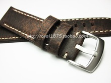 Top level New Products Italy Genuine Leather Belt Oily Applicable for branded watch Bracelet 20 21 22 MM Strap Mens Straps