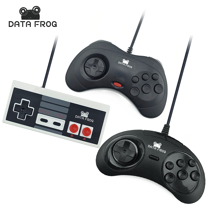 3 stk Wired USB Joystick USB PC Gamepad Gaming Controller Spill Joypad For PC Datamaskin Laptop Gave Gratis Levering