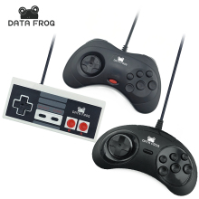 3 Pcs Wired USB Joystick For Snes USB PC Gamepad Gaming For Nes For Sega Controller Game Joypad For PC Computer  все цены