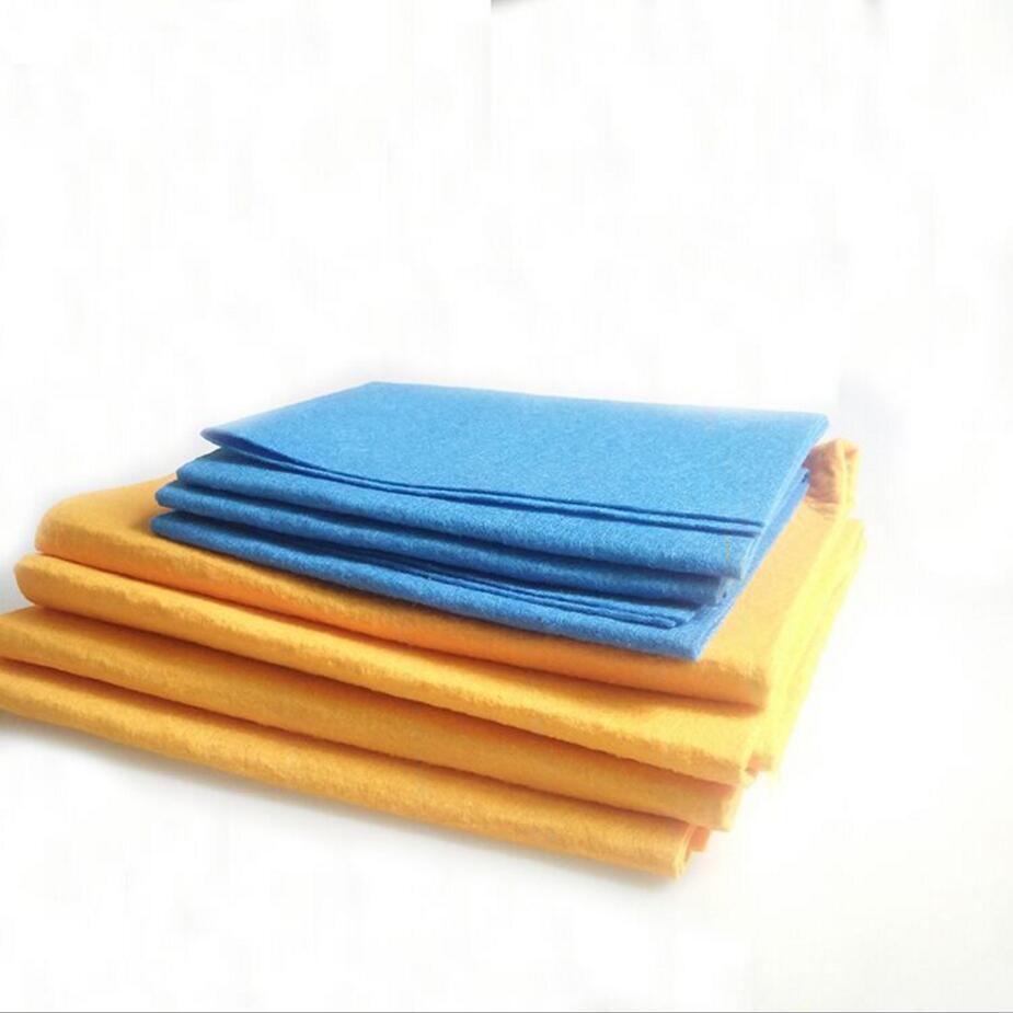 8PCS High Efficient Anti grease Bamboo Fiber Dish Cloth Washing ...