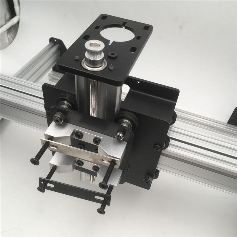 1 set Shapeoko X-carve mix CNC wood router mechanical kit CNC milling machine X-carve Desktop CNC Machine kit no motor