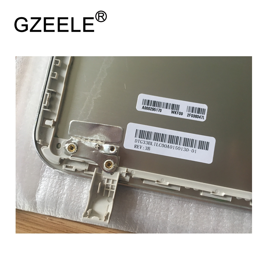 GZEELE New Top case for Toshiba for Satellite L50-B L55-B S55T-B LCD COVER AL ASSY B1BLI0RC02S0 33BLILC00A0 Back cover Silver цена