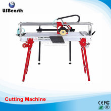 Multifunctional electric table type dust-free cutting machine for cutting stone wood