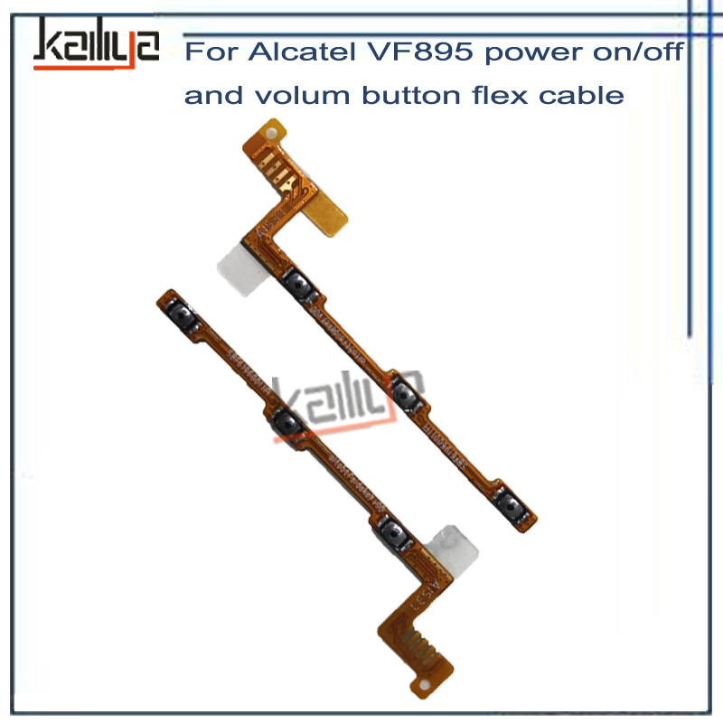 On/Off Side Button For Vodafone Smart Prime 6 VF895 VF 895N V895 VF895N 895N VF 895 power with volume Flex Cable For VF895