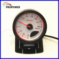 "2.5"" 60MM DF Advance CR Gauge Meter Volt Gauge White Face/AUTO GAUGE"